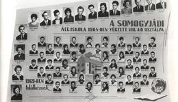 A somogyjádi Általános Iskola 1964-ben végzett A-B. osztálya