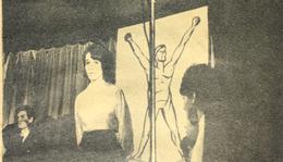 Az irodalmi színpad tagjai (Kiss Vera felvétele)