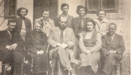 Iskolai tantestület az 1950-es években.