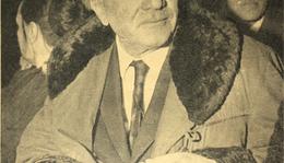 Illyés Gyula a nézőtéren II.