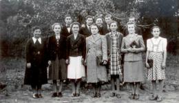 Csoportkép az 1950-es évekből
