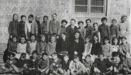 Osztálykép az 1948/1949-es tanévből.