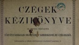 Kereskedelmi cégek 1887-ből (Jád)