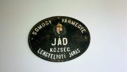 A község vezetése az 1893. évből.