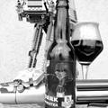 Gasztro-sör gerilla módra - Reczer Ser Collabrew - Dark Wheater fekete búza