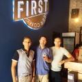 Első látogató a First Craft Beer-nél
