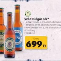Kézműves sörakciók