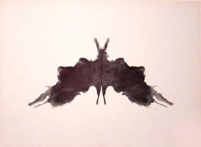 Egy tábla a Rorschach-tesztből