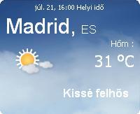 spanyolország időjárás 201