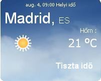 2010 előrejelzés időjárás spanyolország spanyolországi info információ napi eső felhő vihar