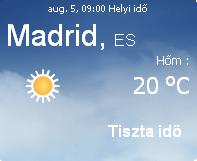 2010 előrejelzés időjárás napi spanyolország spanyolországi info információ időjárása vihar eső felhő