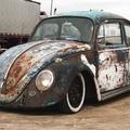 Volkswagen Bogár Rat Look