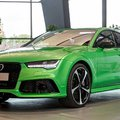 Audi RS7 Sportback (Apple Green Metallic) by Audi Exclusive