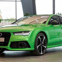Audi RS7 Sportback (Apple Green Metallic) by Audi Exclusive