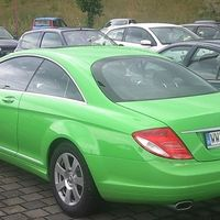 Mercedes-Benz CL 500 (fűzöld)