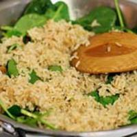 Spenótos rizs