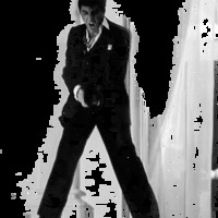 A sebhelyesarcú (Scarface, 1983)