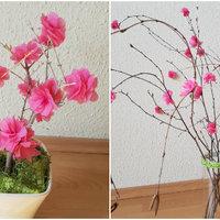 Így készíts virágzó cseresznyefa ágakat, szalvétából - Varázsolj tavaszt a lakásodba! +fotók +leírás