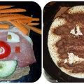 Így készíts vicces ételfejeket és csinálj vele kedvet az egészséges ételekhez +fotók