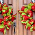15+1 nem hagyományos karácsonyi ajtódísz, amiket te is elkészíthetsz még idén!