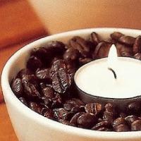 Spórolás hangulatos kávégyertyával