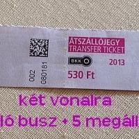 Ne pazarold a BKK jegyet, kettő helyett használj egyet!