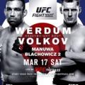 UFC Fight Night London – Beharangozó