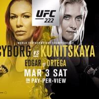 UFC 222 – Beharangozó