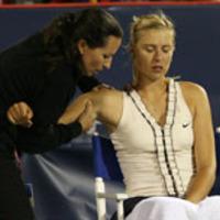 Sharapova: Győzelem majd visszalépés
