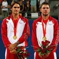 Peking 2008: Tenisz: Federerék nyerték a páros bajnoki címet