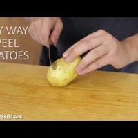 Tuti tipp: ilyen gyorsan még nem pucoltál krumplit
