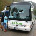 Egy utas mentette meg a buszt