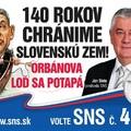 Seggek után Balaton és Orbán - Megkezdte magyarellenes kampányát az SNS