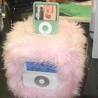 CES: rózsaszín plüss iPod dock