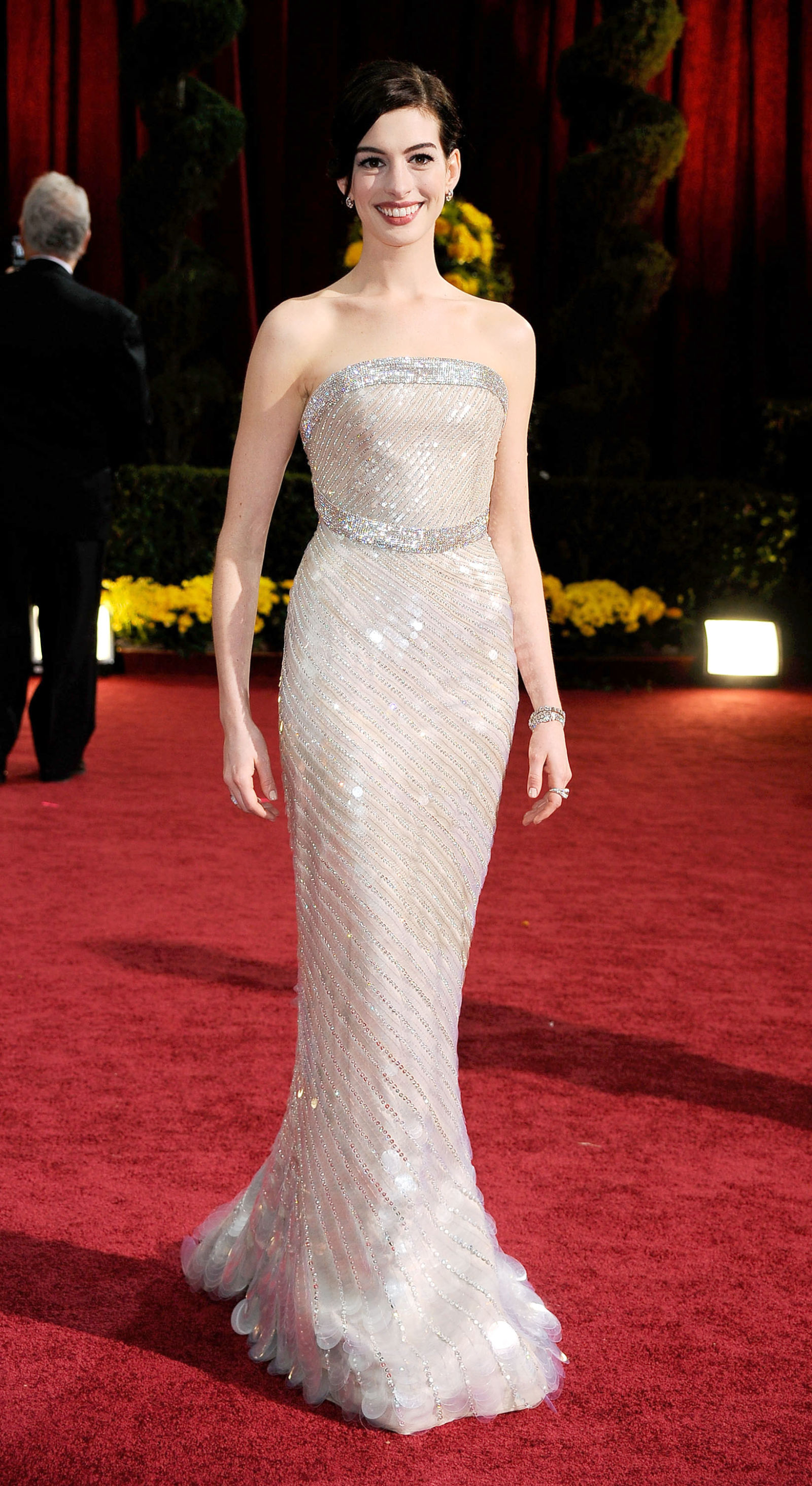 Anne Hathaway, 2009<br />Armani Privé