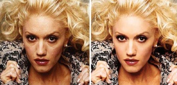 Gwen Stefani, előtte-utána<br />