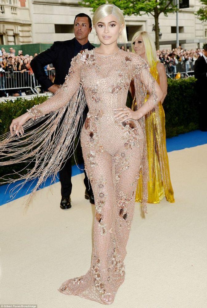 Kylie Jenner, 2017. Met Gala