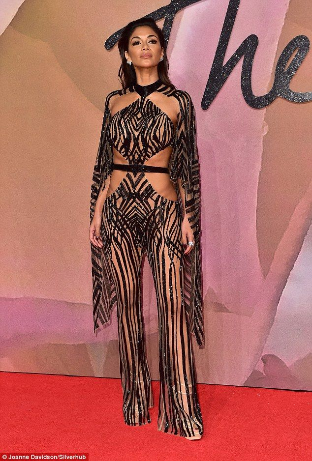 Nicole Scherzinger, 2016. British Fashion Awards