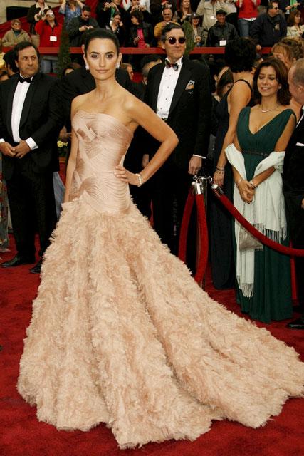 Penelope Cruz, 2007<br />Versacce