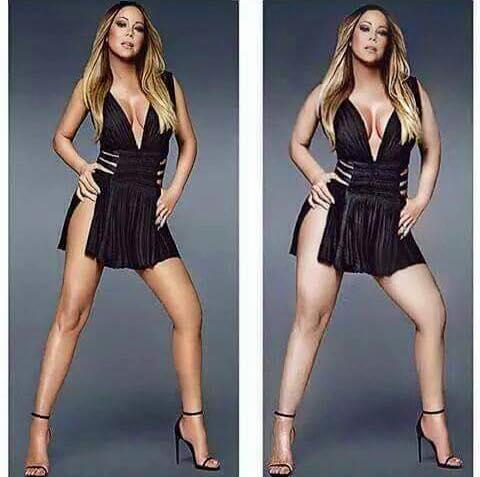 Mariah Carey sem a fitnessz teremben izzad órákat a tökéletes alak érdekében, hanem alkalmazottja izzad vért, mire tökéletes alakot varázsol neki.<br />