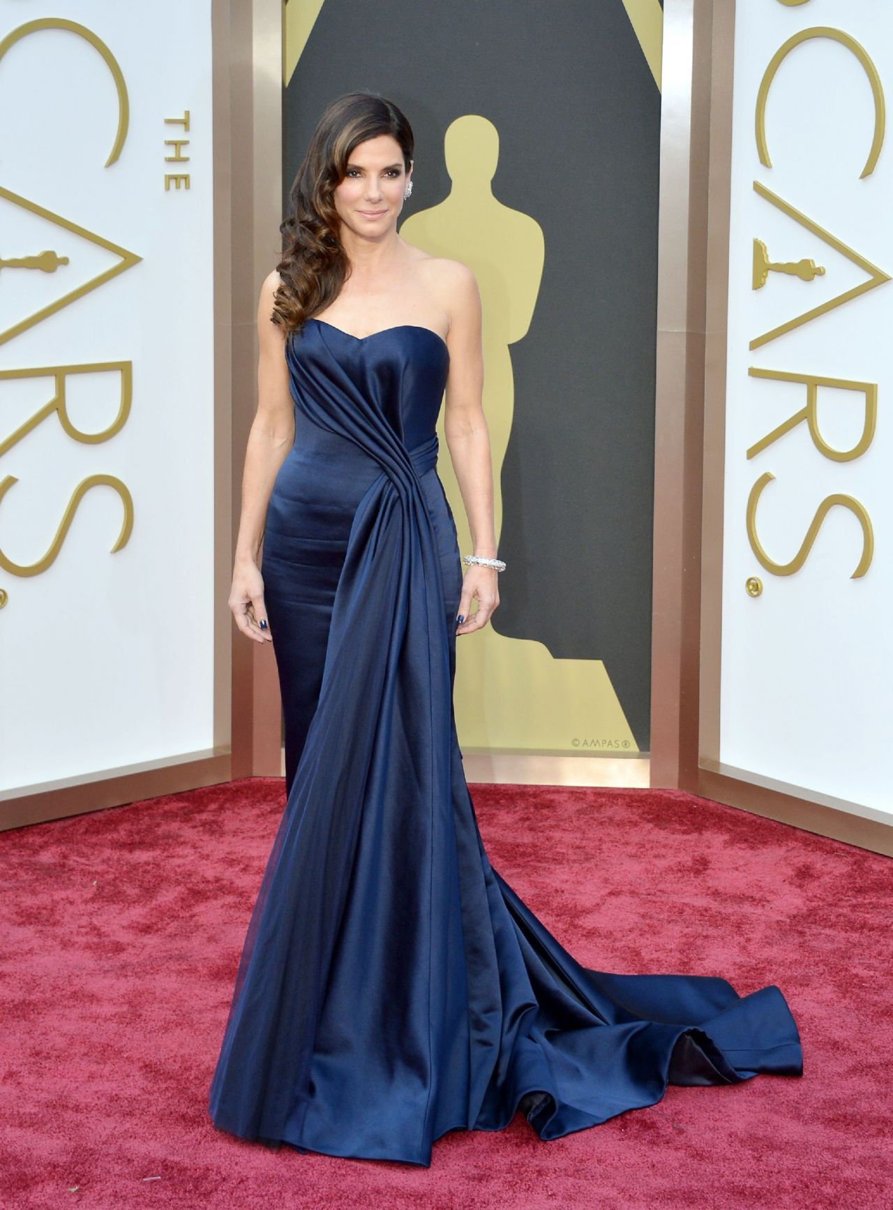 Sandra Bullock, 2014<br />Alexander McQueen
