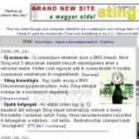 10 éves a Sting.hu