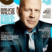 Bruce Willis címlapon!