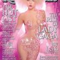 Lady Gaga buborékruhában címlapon