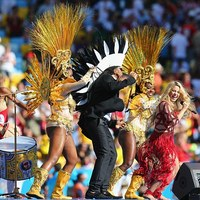Shakira a foci vb záróünnepségén