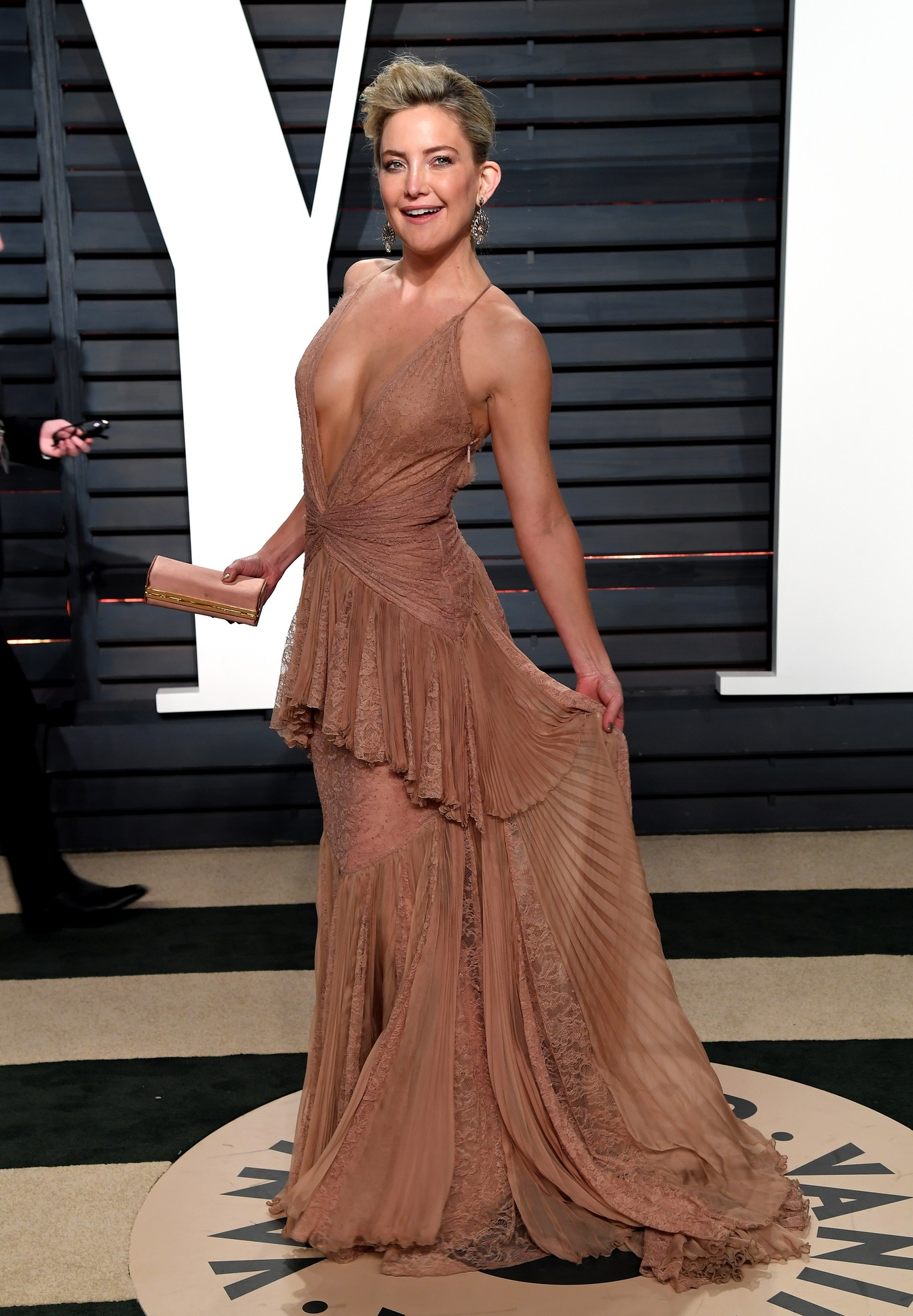 Kate Hudson Roberto Cavalli estélyiben. Idegesítő ez a nő, de a ruhája telitalálat.