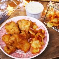 Ponty fish&chips remulád mártással