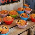 Villámgyors áfonyás-fehércsokis muffin
