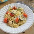 Mascarponés-csirkés pasta