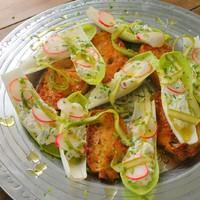 A 16. adás receptjei: tavaszi endívia saláta, saltimbocca, egészben sült karaj